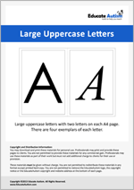 Letters: Large Uppercase