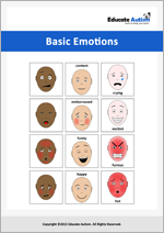 28 Emotions: Picture Communication Cards