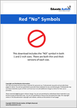 No Symbols: Picture Communication Cards