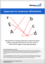 Matching: Uppercase to Lowercase