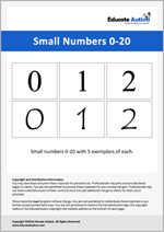 Numbers: Small 0-20