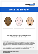 Write the Emotion - Lines