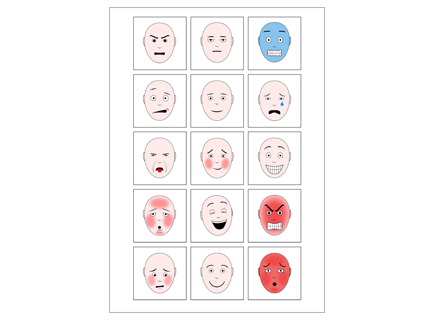 Free Download Basic Emotions Expressions Educate Autism