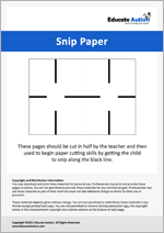 Snip the Paper