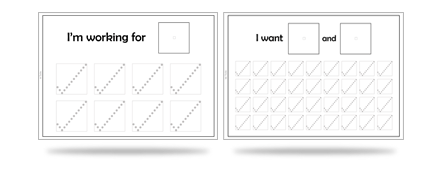 Picture Reinforcers: Compatible with AACs