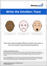 Write the Emotion - Trace